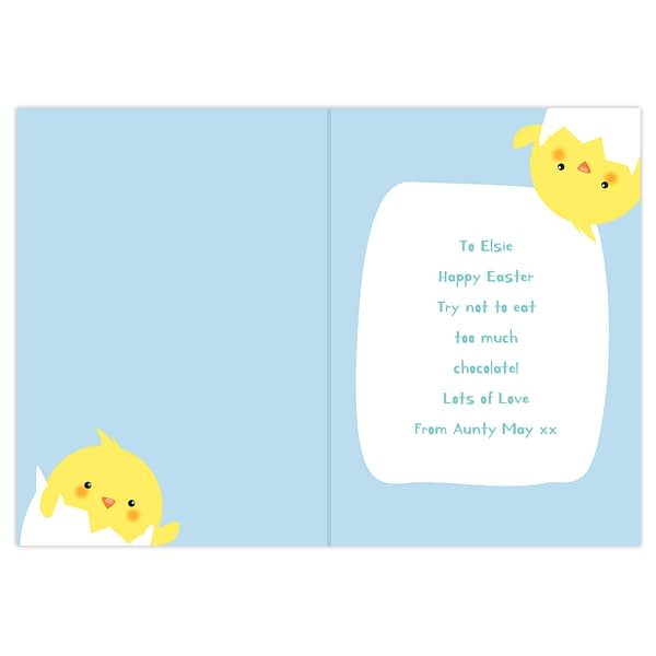 Personalised Have A Cracking Easter Card