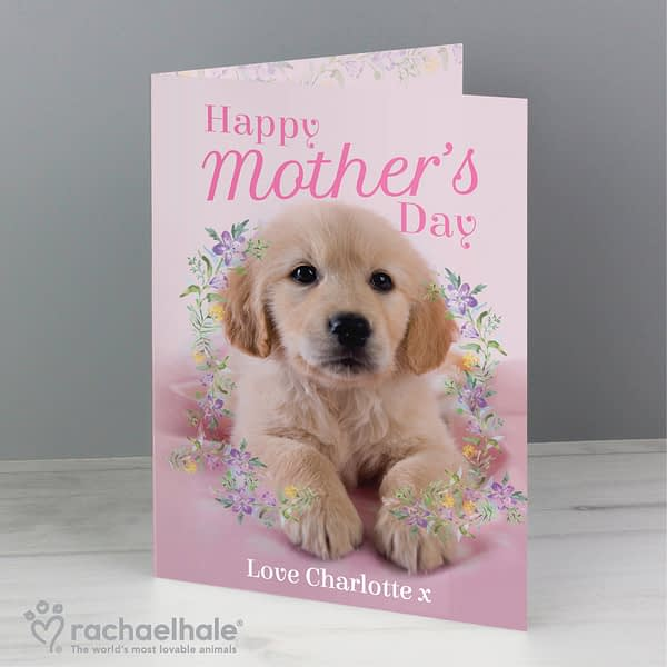 Personalised Rachael Hale 'Happy Mother's Day' Card