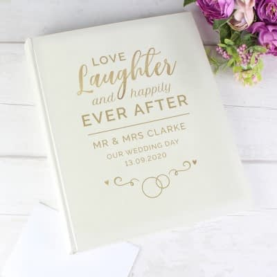 Personalised Happily Ever After Traditional Album