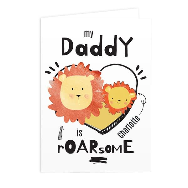 Personalised Roarsome Card