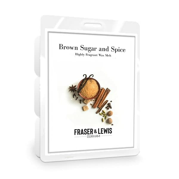 FRASER AND LEWIS BROWN SUGAR AND SPICE WAX MELT