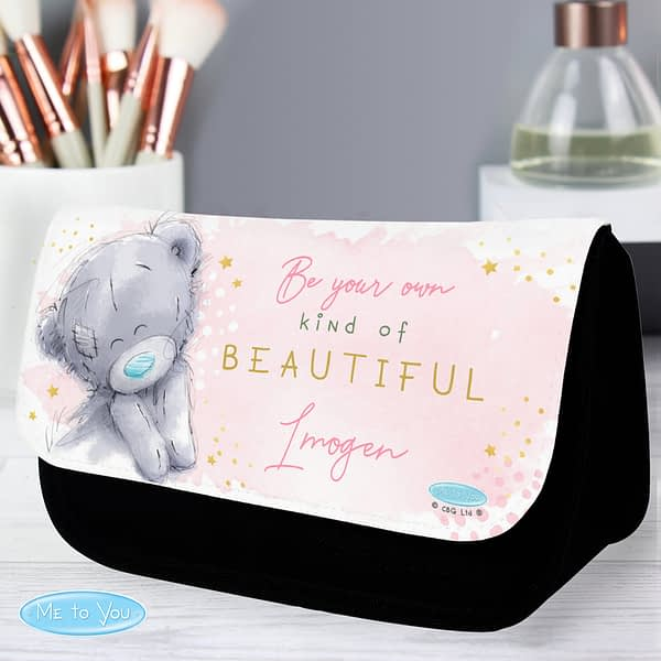 Personalised Me To You Be-You-Tiful Make Up Bag