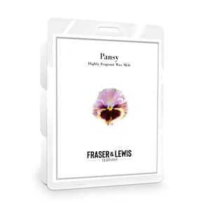 FRASER AND LEWIS PANSY WAX MELT