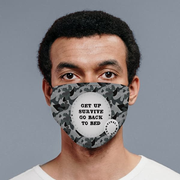 Personalised Camo Survival Face Covering