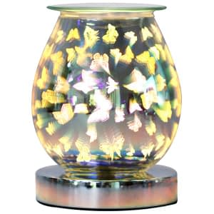 Aroma Butterfly 3D Electric Touch Lamp Wax Melt Oil Burner