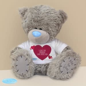 Personalised Me To You Bear Heart