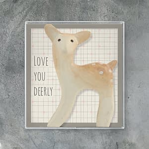 East of India Boxed deer-Love you deerly