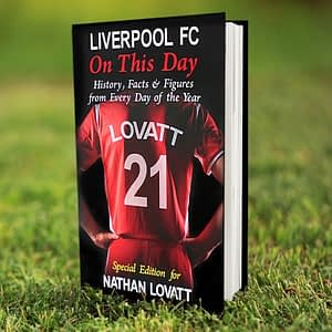 Personalised Liverpool On This Day Book