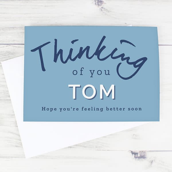 Personalised Thinking of You Card