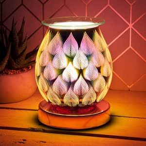 Desire Aroma 3D Electric Touch Lamp Rose Gold Flame
