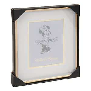 DISNEY CLASSIC COLLECTABLES FRAMED PRINT - MINNIE MOUSE
