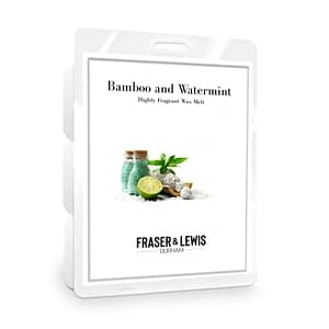 FRASER AND LEWIS BAMBOO AND WATERMINT WAX MELT