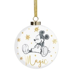 DISNEY CLASSIC COLLECTABLES LUXURY CERAMIC BAUBLE- MICKEY MOUSE