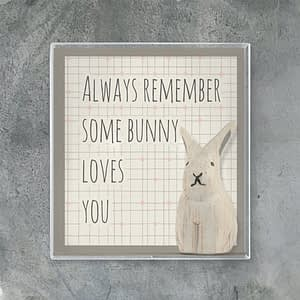 East of India Boxed rabbit-Always remember