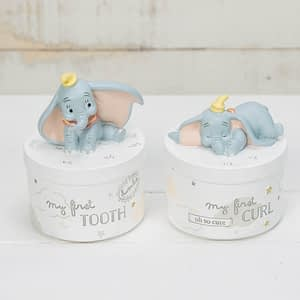 DISNEY MAGICAL BEGINNINGS TOOTH & CURL BOXES - DUMBO