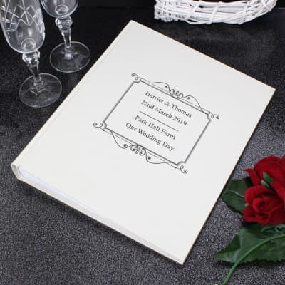 Personalised Silver Traditional Album