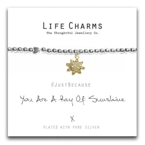 Life CharmYou Are A Ray Of Sunshine Bracelet