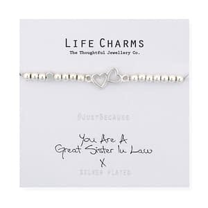 You Are A Great Sister In Law Bracelet