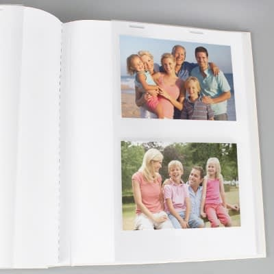 Personalised Whimsical Pink Church Album with Sleeves
