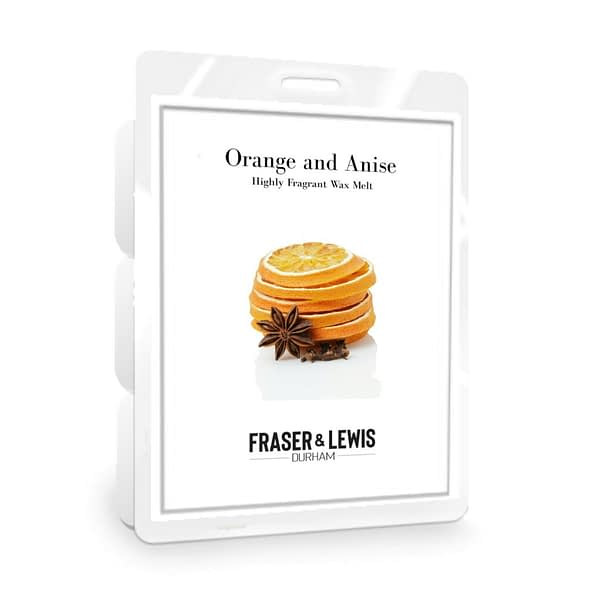 FRASER AND LEWIS ORANGE AND ANISE WAX MELT