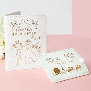 DISNEY HAPPILY EVER AFTER PASSPORT HOLDER & LUGGAGE TAG SET