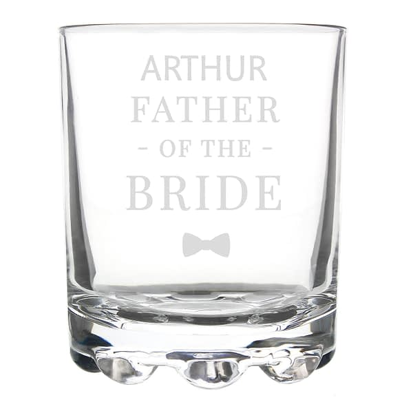 Personalised Father of the Bride Tumbler